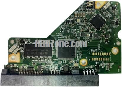 2060-771702-001 WD Papan Sirkuit PCB Hard Drive