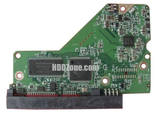 2060-771818-000 WD Papan Sirkuit PCB Hard Drive