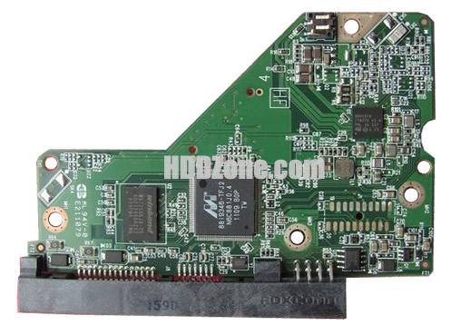 2060-771824-006 WD Papan Sirkuit PCB Hard Drive
