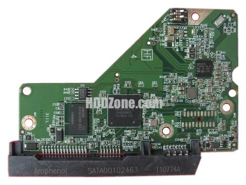 2060-771829-000 WD Papan Sirkuit PCB Hard Drive