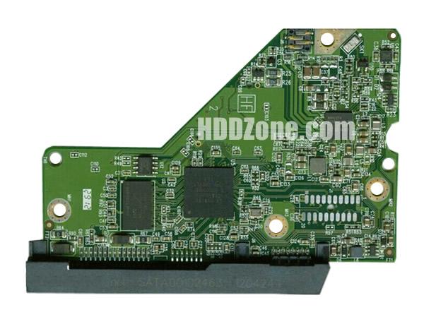 2060-771829-004 WD Papan Sirkuit PCB Hard Drive