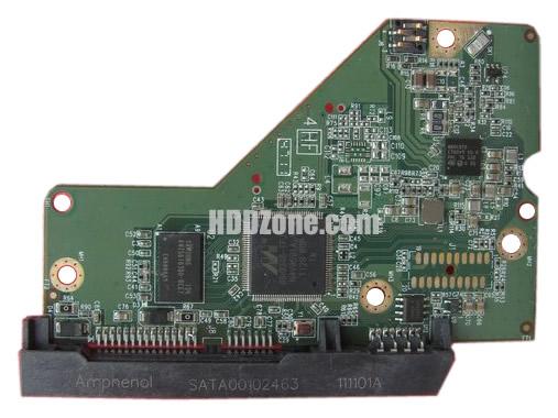 2060-771853-000 WD Papan Sirkuit PCB Hard Drive