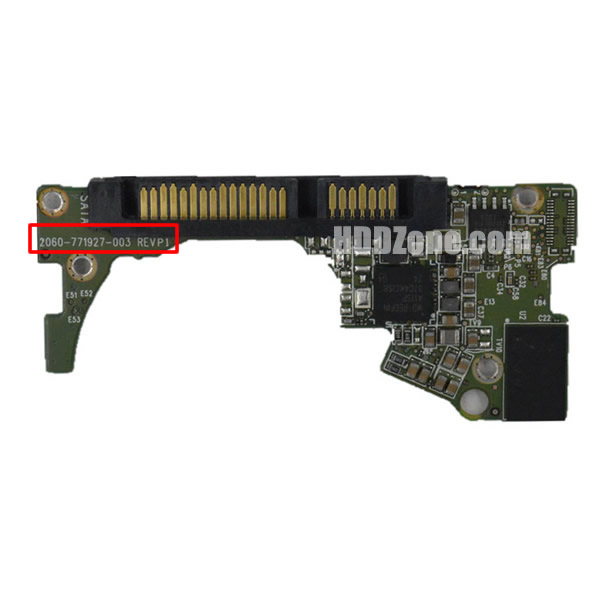 2060-771927-003 WD Papan Sirkuit PCB Hard Drive