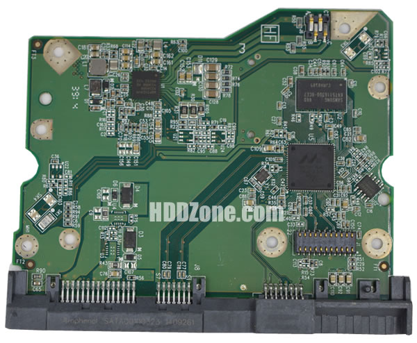 2060-800001-002 WD Papan Sirkuit PCB Hard Drive