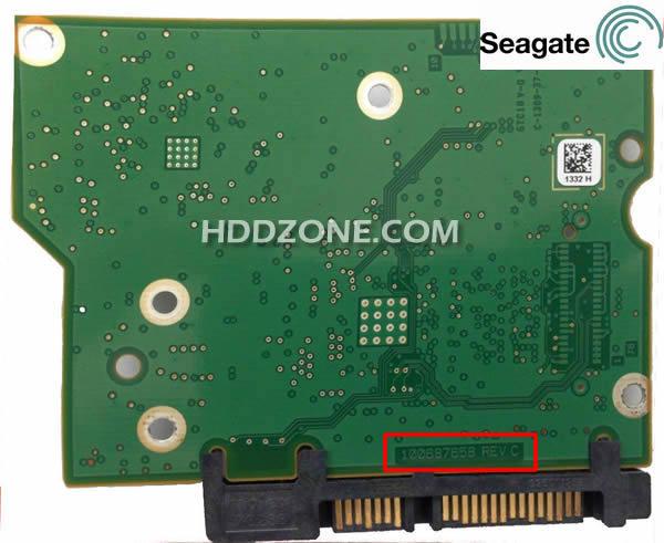 Ganti papan sirkuit hard drive Seagate