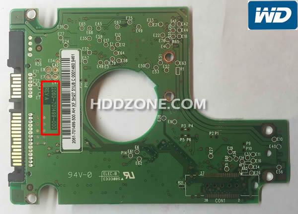 Ganti papan sirkuit hard drive Western Digital